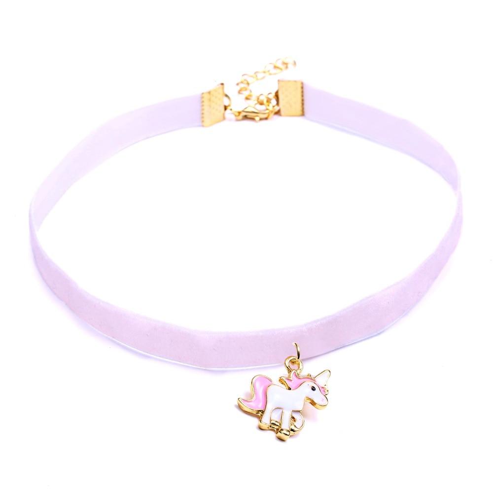 Unicorn Necklace For Girls Children Kidss