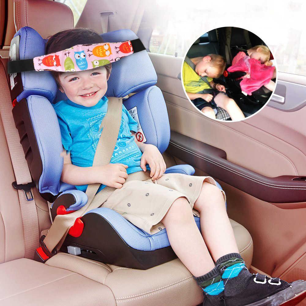 Практичное безопасное детское переносное детское кресло для сна и сна с креплением на голову держатель для поддержки ремня Держатель для поддержки головы пояс для сна сова