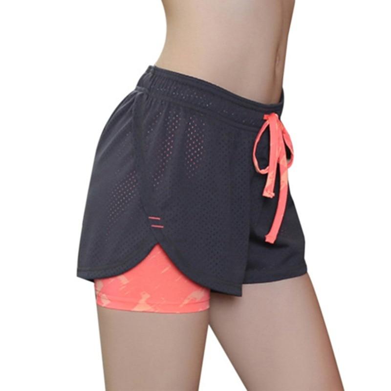 Womens Short Pants Fitness Shorts Women Spodenki Damskie Running Gym Exercise Sports Shorts