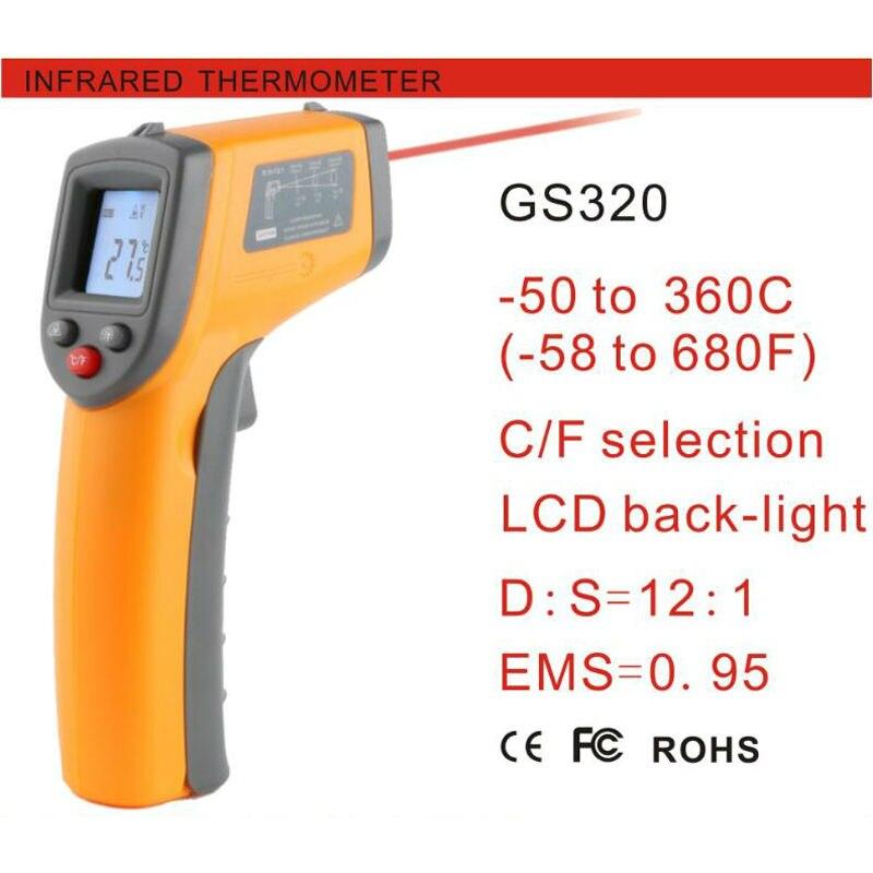 бесконтактный цифровой инфракрасный ик-термометр