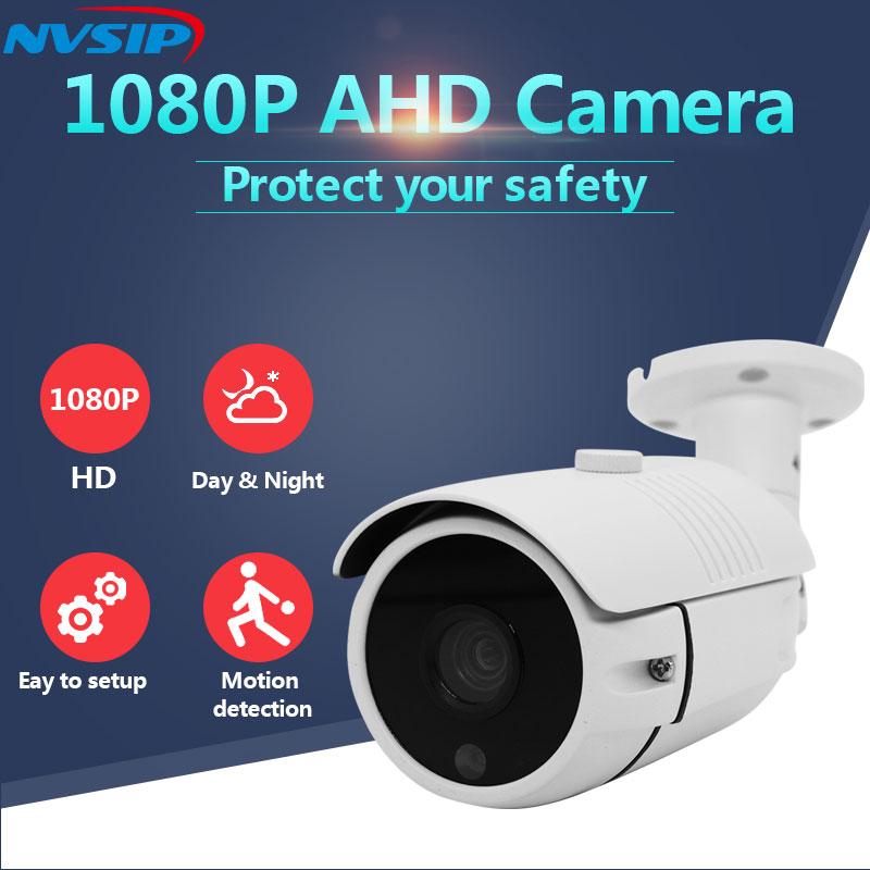 AHD Analog Camera 2MP High Definition Surveillance Infrared 1080P CCTV Security Outdoor Bullet Waterproof CamerasAHD Analog Camera 2MP High Definition Surveillance Infrared 1080P CCTV Security Outdoor Bullet Waterproof Cameras