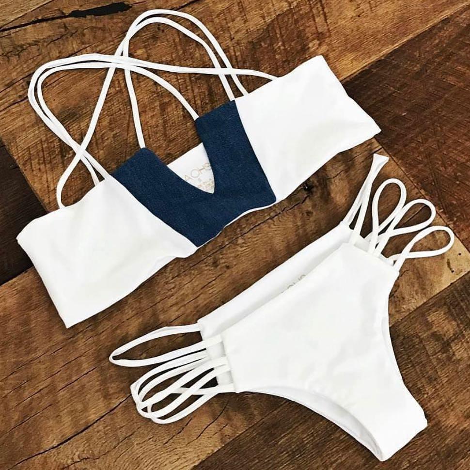 New Bikinis Push Up Swimwear Female 2017 Summer Women Sexy Bikini Set Swimsuit Beachwear Bathing Suit Brazilian Biquini fashion sexy bikinis 2016 new design swimwear push up women swimsuit bathing suit female tankini bikini set