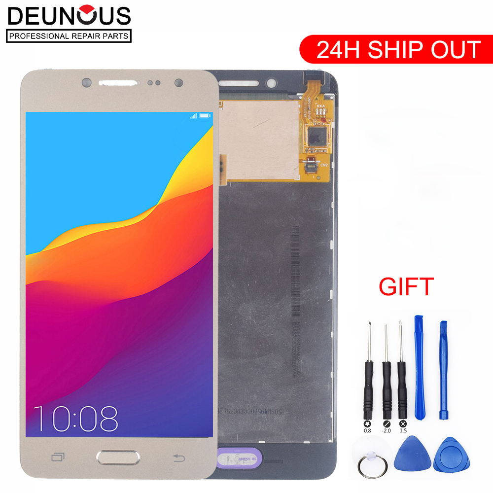 For <font><b>Samsung</b></font> GALAXY Grand Prime LCD <font><b>Display</b></font> + Touch Screen Digitizer G532H G532F G532 G532FZ Sensor Assembly Repair Parts image