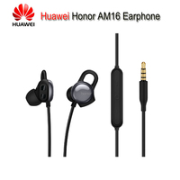 2018 Original Huawei Honor AM16 Earphone 3.5mm With Mic APP Heart Rate Function Sport Earphones For Huawei P20 Honor 9 10 7X