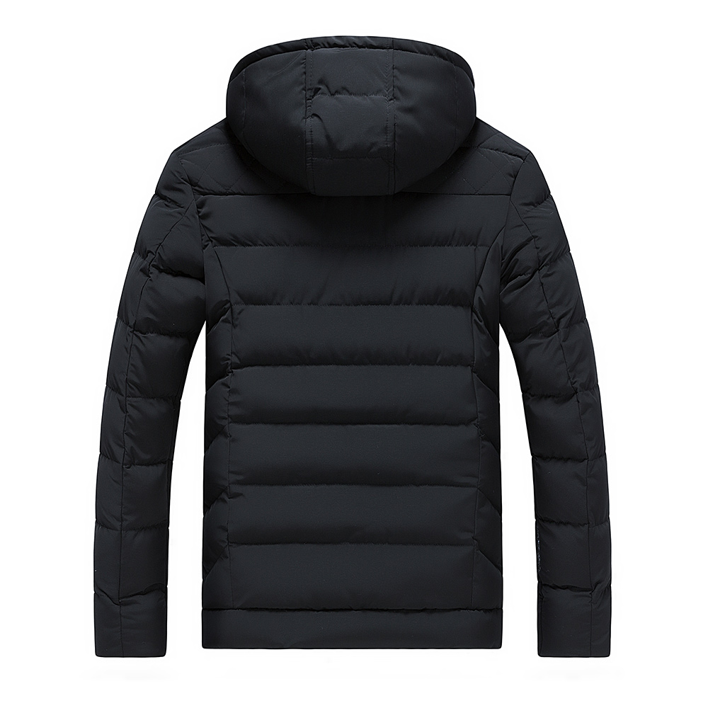 Hiver Casual Blue Manteau C80 Capuchon 2018 Veste Marque Outwear Chaud Épaissir Rembourré Black Hommes Manteaux Mode dark blue green Coton Top Vêtements À Parka SBTwEqxa