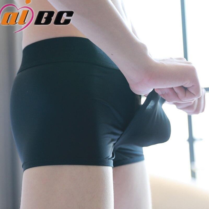 In QualitäT 100% Wahr Männer Unterwäsche Boxer Eis Seide Sexy Low Taille Dünne Elastische Unterwäsche Jugend Cueca Boxer Homme Boxershorts Männer Calzoncillos üBerlegene