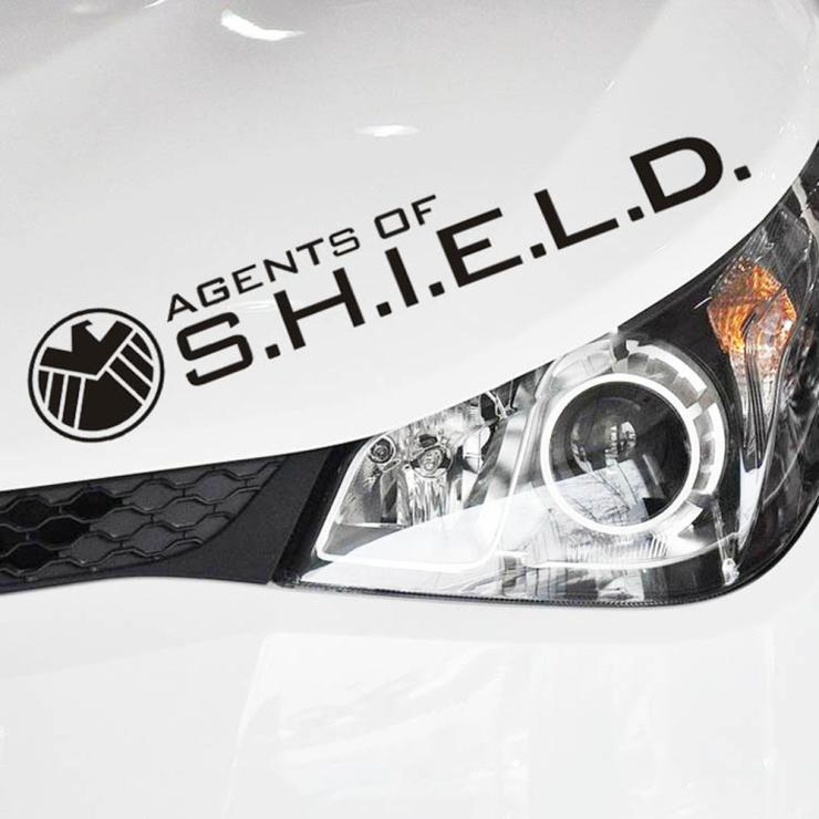 Aliauto car styling Agents Of shield Reflective Car Sticker and decal for Toyota Chevrolet cruze VW Polo Honda Hyundai Kia Lada 4pcs set smoke sun rain visor vent window deflector shield guard shade for hyundai tucson 2016