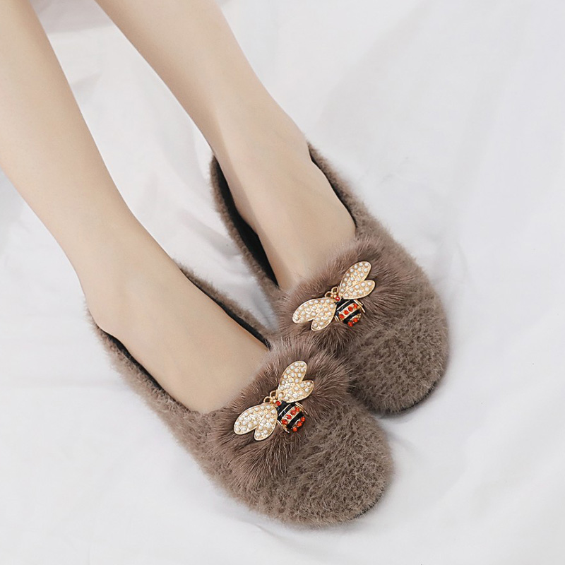 Mujer Mujeres gris Beige caqui Zapatos 35 Plus 43 Señoras On Barco Tamaño Ballet Las 6823 Piel A De Slip Pisos Imitación Planos Mujer Cuadros qBqxpwH