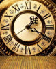 Cinderella Clock Wood Floor Background Vinyl Cloth High Quality Computer Print Children Kids Photo Backdrop