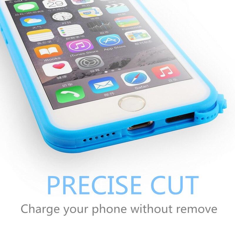Für iPhone 7 Hülle 360 Vollschutz Ultra Thin Soft TPU - Handy-Zubehör und Ersatzteile - Foto 5