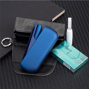 Image 5 - Mode Flip Doppel Buch Abdeckung für 3,0 Fall Tasche Tasche Halter Abdeckung Brieftasche Leder Fall für iqos 3