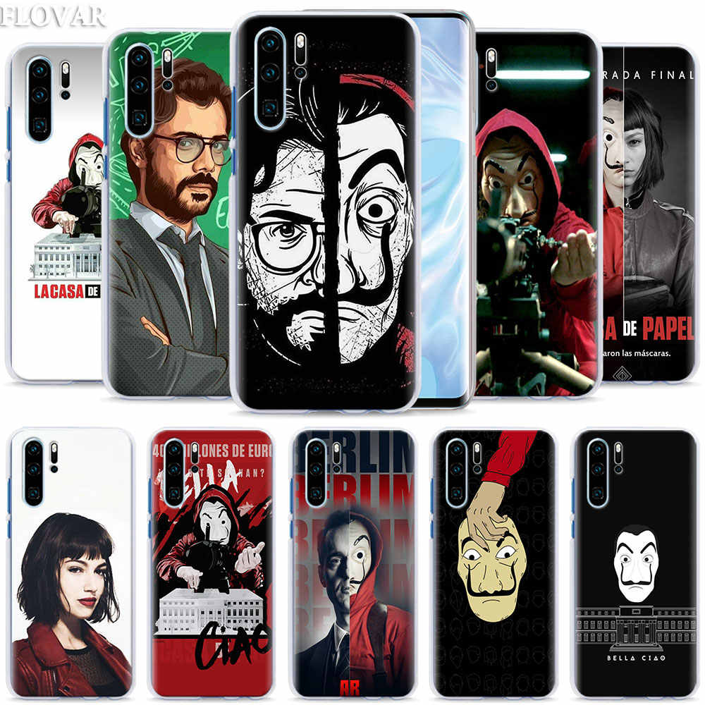 La Casa de papel Phone Case coque for Huawei P30 Pro P10 P20 P30 Lite P8 P9 Lite P Smart Plus case