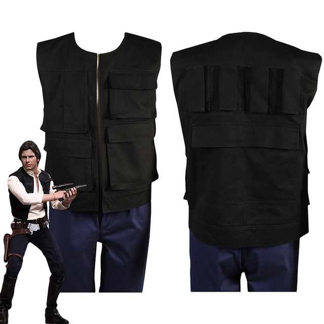Star Wars Anh A New Hope Han Solo Cosplay Costume Halloween Costume