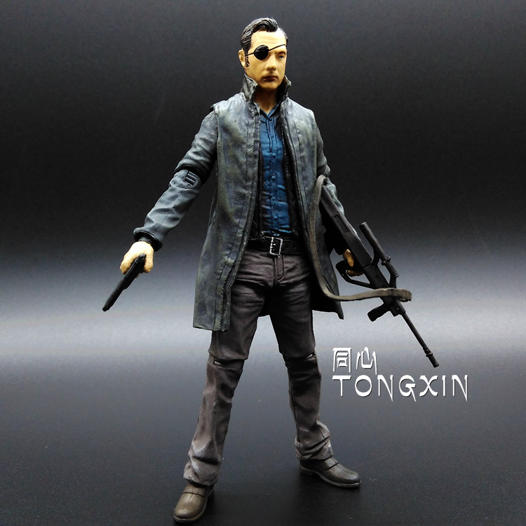 New The Walking Dead   The Governor TV Series AMC 12cm PVC Action Figure Model Toys For Gift small watyer booster pump reorder rate up to 80