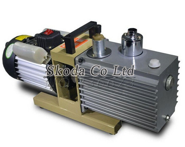 Direct two-stage rotary vane air vacuum pump suction pump 2XZ-0.5 for OCA Laminating and LCD screen separator