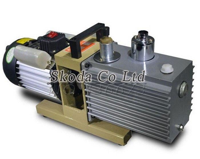 Pompe d'aspiration directe 2XZ-0.5 de pompe à vide d'air à palettes rotatives à deux étages pour la stratification d'oca et le séparateur d'écran d'affichage à cristaux liquides