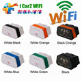 Vgate WiFi iCar 2 High Quality Vgate iCar2 Wifi Vgate wifi elm327 obd2 Scan Tool With 6 Colors Free Shipping