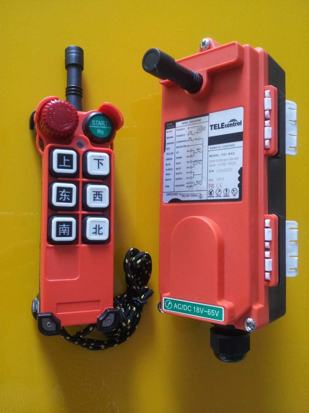 medium resolution of telecrane crane and electric hoist f21 e1 industrial radio remote control