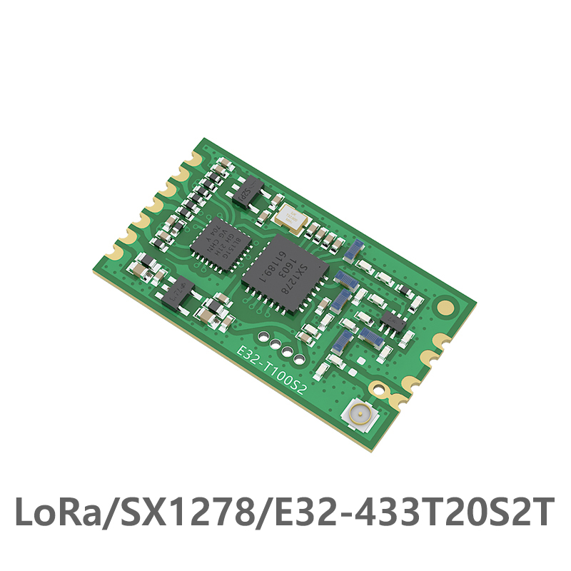 Image 1 - SX1278 LoRa TCXO 433MHz Wireless Module E32 433T20S2T Long Range 3km rf IPEX Stamp Hole Transceiver Transmitter Receiver-in Fixed Wireless Terminals from Cellphones & Telecommunications