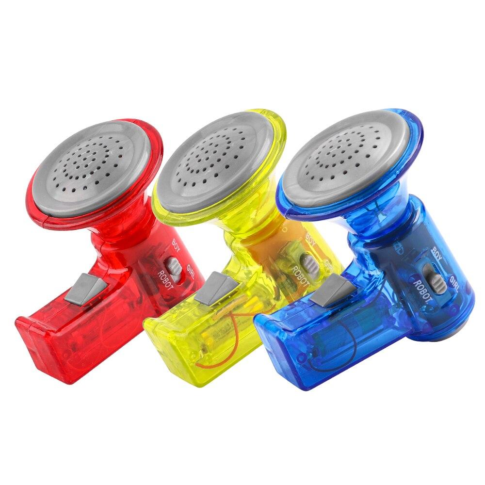 3 stil Super Lautsprecher Interessant Enligten Pädagogisches Spielzeug Stimme Wechsler Lautsprecher Spielzeug Geschenk für Kinder Kinder