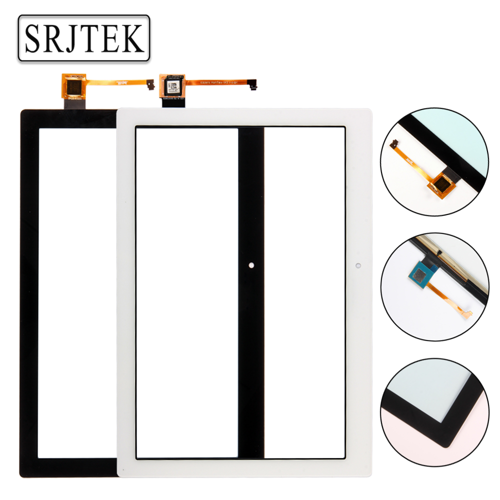 Srjtek 10.1 For Lenovo Tab 2 A10-70 A10-70F A10-70L Touch Screen Digitizer Panel Sensor Outer Glass Tablet PC Replacement Parts free shipping for lenovo flex 2 15 flex 2 pro 15 new touch panel touch screen digitizer glass lens replacement repairing parts
