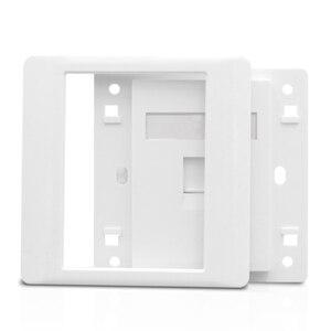 Image 3 - 1 ポート猫 6 RJ45 イーサネット壁前面プレート押出ワイヤーソケット 86 × 86 ミリメートル Xbox ネットワーク LAN コード