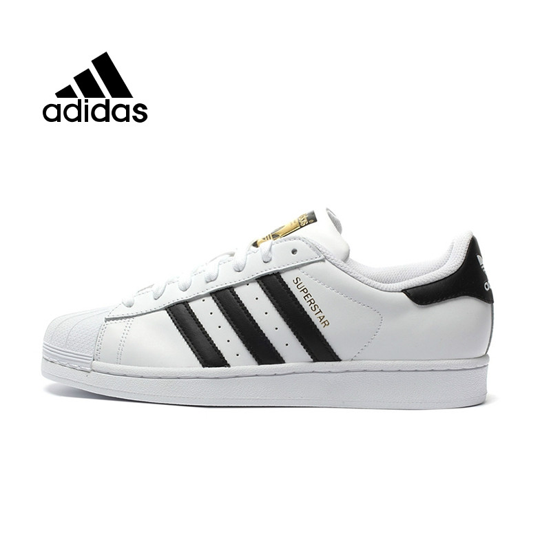 Original authentique Adidas officiel Superstar Originals hommes & femmes chaussures de skate unisexe loisirs chaussures baskets BB2250