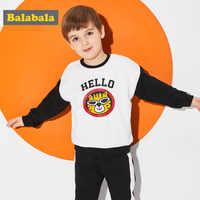 Balabala garçons sweat survêtements mignon Animal Applique garçons vêtements ensemble bambin garçons printemps personnalisé à manches longues enfant vêtements