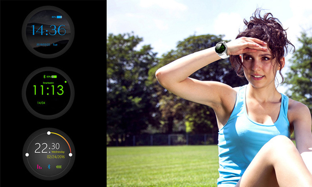 Kaimorui Smart Watch for IOS and Android with Bluetooth