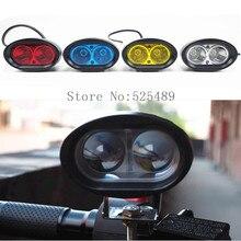 4 Colors 20W Universal Waterproof 12-80V Motorcycle LED Headlight Headlamp Motorbike ATV Pit Bike Dirt Bike Fog Spot Head Lights(China (Mainland))