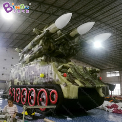 7x2.8x3.8 metri vasca gonfiabile decoy/serbatoio militare gonfiabile/gonfiabile serbatoio-giocattolo gonfiabile