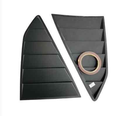 עבור שברולט קמארו 2016-2019 סדאן ABS אחורי דלת חלון גווני תריסי מסגרת חלון דפוס אדן כיסוי מדבקה לקצץ