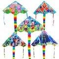 Venda quente dos desenhos animados pipa weifang moda pipa com linha punho poder kite nylon voando pipas brinquedos ao ar livre para a venda dragão