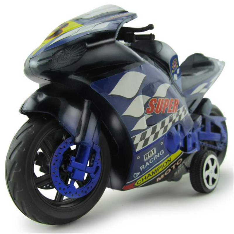 baby kids Motorcycle Simulation inertia motorcycle toy Childrens plastic model toy car Motorcycle model children birthday gift