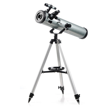HD 350 Times Reflective Astronomical Telescope 76700 with Alloy Tripod Zooming Monocular Reflective for Space Planet Observation
