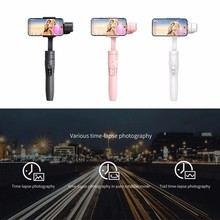 Feiyu Vimble 2 Selfie Stick Travel Gimbal Handheld Stabilizer for iPhone X 8 Plus 7 Samsung Galaxy S9 S8+ for XIAOMI Smartphone kisscase candy colorful universal selfie stick for iphone 7 8 for huawei portable mini self timer for samsung galaxy s8 s9 plus