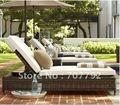 2017 venta Caliente muebles de ratán silla de cubierta SG-12002C Elegante negro