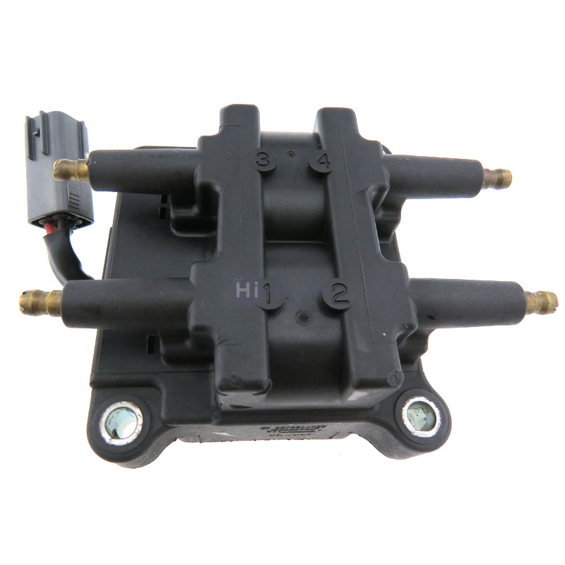 US $69 29 10% OFF|Original OEM Ignition Coil FH016 12V 22433AA430 22433  AA430 Ignition Coil Pack for Subaru Impreza Forester Legacy 2 0L turbo-in