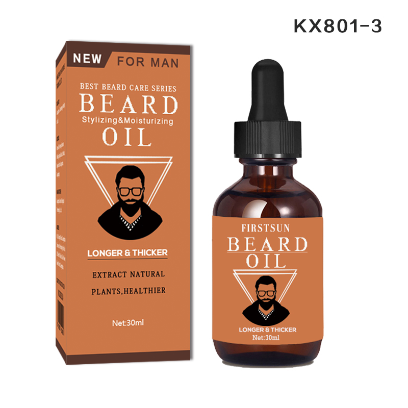 2pcs New!!! Natural organic beard oil grows thicker and smoother healthier Best Beard Oil Moisturizing Facial Treatment Oil
