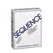 Gioco di carte da gioco in sequenza divertente strategia intrattenimento per feste in famiglia carte arabe inglesi juego de mesa bambini adulti