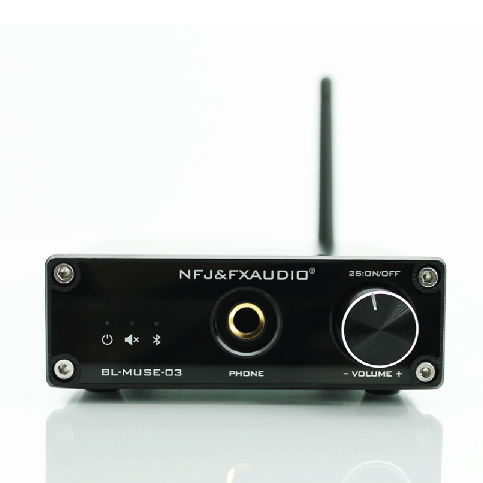 FX-Audio BL-MUSE-03 DAC Decoding Lossless Bluetooth 4.2 HIFI Audio Receiver home Amplifier CSRA64215 Support NFC APT-X