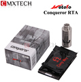 Wotofo Conqueror RTA  Rebuildable Tank Atomizer Dual Postless Deck Adjustable Airflow Control Top-filling Clearomizer Vaporizer