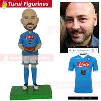custom sculptures from photo anime sculpture pizza shop owner business figurines custom boss bobblehead bobble head dolls figure