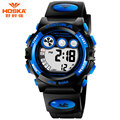 Popular Brand HOSKA Digital Watch for Kids Daytona Chronograph Wrist Band Shockproof Waterproof Digital Watch Children Girl H002