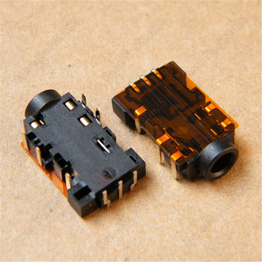 Livraison gratuite 3.5mm audio jack port casque microphone socket pour acer aspire 2930 3820 3935 4810 4830
