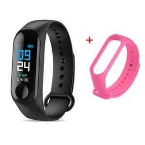 Image 5 - M3 Smart Watch Bracelet Band Fitness Tracker Messages Reminder Color Screen Waterproof Sport Wristband For men women
