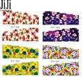 Jiji Trendy Nail 1 sheet 2016 Beauty Flowers  Sticker Water Transfer Nail Art Stickers Nails Decals Temporary Tattoos STZ364-367