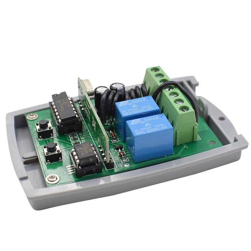 433.92mhz 12-24V DC Garage Door Control Receiver Compatible DOORHAN V2 DITEC Hormann Ecostar DEA PUJOL