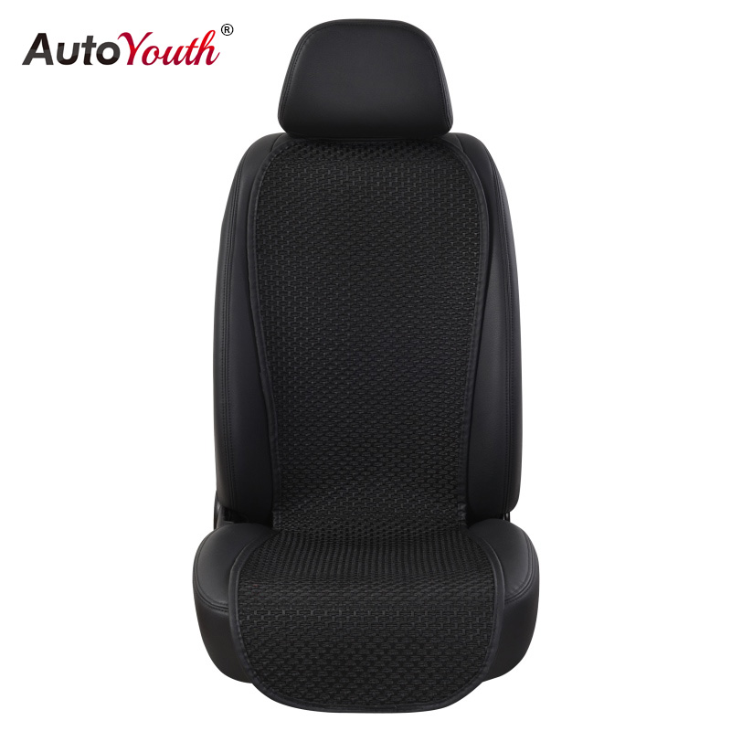 цена на AUTOYOUTH Breathable Ice Silk Small Waistline Seat Cushion Car Pad Universal Cushions Summer Car Seat Cover 4 Colour Car-Styling