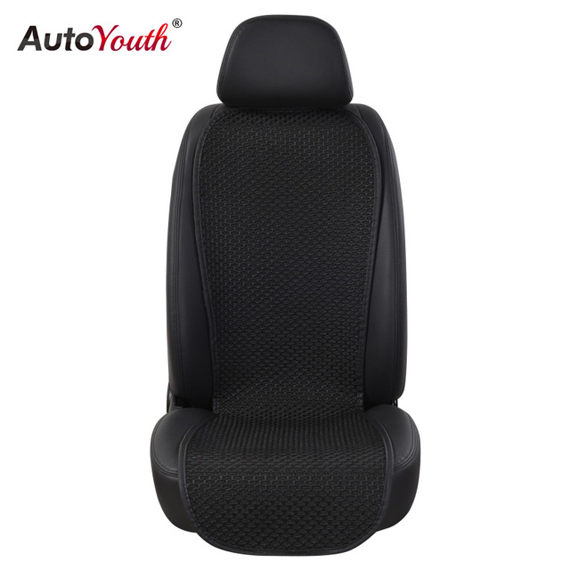 AUTOYOUTH Breathable Ice Silk Small Waistline Seat Cushion Car Pad Universal Cushions Summer Cover
